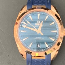 Omega Seamaster Aqua Terra Rose gold 41mm Blue No numerals United States of America, Florida, Hollywood