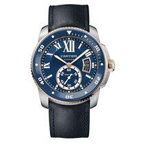 Cartier Calibre de Cartier Diver Acier 42mm Bleu Romains