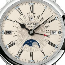 Patek Philippe Perpetual Calendar White gold 38mm White Roman numerals United States of America, New York, New York