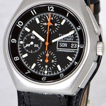 Tutima Military Steel 43mm Black No numerals
