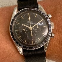 Omega Speedmaster Professional Moonwatch Steel 42mm Black No numerals Finland, HELSINKI
