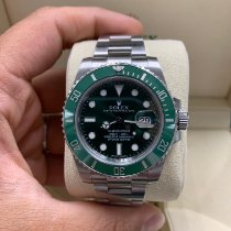 Rolex Submariner Date 116610LV Very good Steel 40mm Automatic