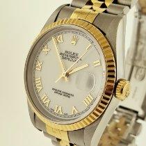Rolex Datejust Acero y oro 36mm Blanco Romanos Argentina, buenos aires