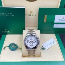Rolex Daytona Steel 40mm White No numerals United States of America, Illinois, Springfield