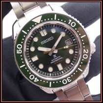 Seiko Marinemaster Steel 44mm Green No numerals