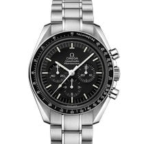 Omega Speedmaster Professional Moonwatch Сталь 42mm Чёрный Без цифр