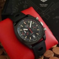 TAG Heuer Monza Titanium 42mm Black No numerals United States of America, California, Los Angeles
