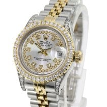 Rolex Lady-Datejust Gold/Steel 26mm Silver No numerals United States of America, California, Sherman Oaks