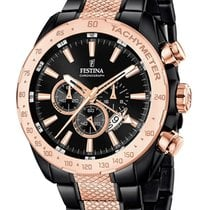 Festina Steel 44mm Quartz F16888/1 new