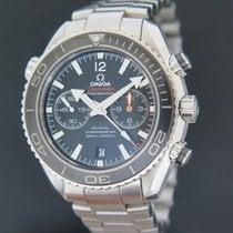 Omega Seamaster Planet Ocean Chronograph Сталь 45.5mm Черный