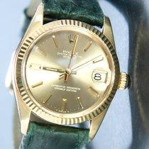 Rolex Lady-Datejust Zuto zlato 30mm Zlatan Bez brojeva