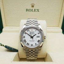 Rolex Datejust Acier 41mm Blanc Romains France, Orléans