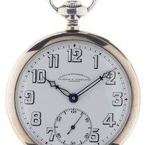 Vacheron Constantin Reloj usados 1917 Plata Arábigos Solo el reloj