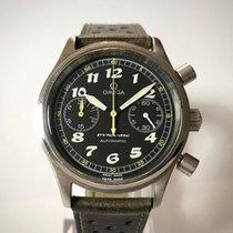 Omega Dynamic Chronograph Stahl 38mm Schwarz Arabisch