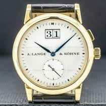 A. Lange & Söhne Yellow gold Manual winding 34mm pre-owned Saxonia