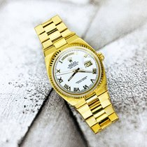 Rolex Day-Date Oysterquartz Or jaune 36mm Blanc Romains France, Marseille