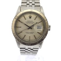 Rolex Datejust Turn-O-Graph Stahl 36mm Silber