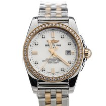 Breitling Galactic Steel 29mm Mother of pearl
