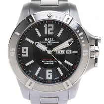 Ball Engineer Hydrocarbon Spacemaster Zeljezo 42mm Crn