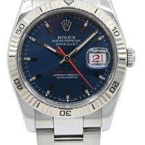 Rolex Datejust Turn-O-Graph Acier 36mm Bleu Sans chiffres France, Lyon