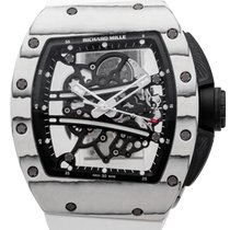 Richard Mille Ceramic Manual winding Transparent 50mm new RM 061