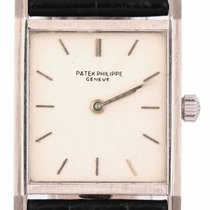 Patek Philippe Vintage White gold 24mm Silver United States of America, New York, Lynbrook