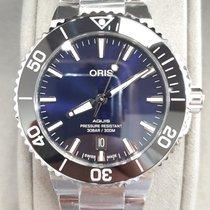 Oris 01 733 7766 4135-07 8 22 05PEB Steel 2021 Aquis 41.5mm new