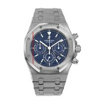 Audemars Piguet Royal Oak Chronograph Steel 40mm Blue No numerals United States of America, New York, New York