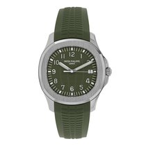 Patek Philippe Aquanaut White gold 42mm Green Arabic numerals United States of America, New York, New York