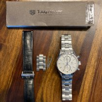 TAG Heuer Carrera Calibre 1887 Steel 41mm White No numerals United States of America, New York, Syracuse