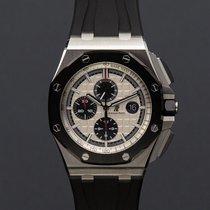 Audemars Piguet Royal Oak Offshore Chronograph Acier 44mm Blanc Sans chiffres