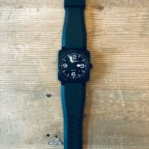 Bell & Ross BR 03 pre-owned 42mm Black Date Rubber