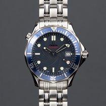 Omega Seamaster Steel 41mm Blue No numerals