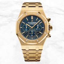Audemars Piguet 26320BA.OO.1220BA.02 Yellow gold 2019 Royal Oak Chronograph 41mm new