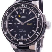 Oris new Automatic Luminous hands Rotating Bezel Screw-Down Crown 49mm Titanium Sapphire crystal