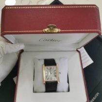 Cartier Tank Louis Cartier W1560017 Очень хорошее Pозовое золото 33,7mm Механические Россия, 660118