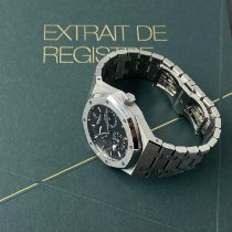 Audemars Piguet Royal Oak Dual Time Acier 39mm Noir Sans chiffres France, paris