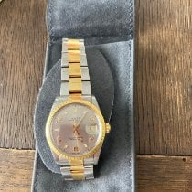 Rolex Oyster Perpetual Date Or/Acier 34mm Or Sans chiffres France, paris