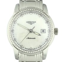 Longines Saint-Imier Steel 30mm Mother of pearl United States of America, Georgia, Atlanta