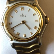 Ebel Classic Gold/Steel 24mm Mother of pearl