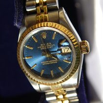Rolex Lady-Datejust 69173 Good Gold/Steel 26mm Automatic