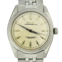 Rolex Oyster Perpetual 34 Steel 34mm White No numerals United States of America, Georgia, Atlanta
