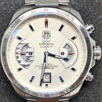 TAG Heuer Grand Carrera Steel 43mm Silver No numerals United States of America, Florida, Miami
