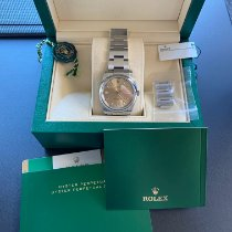 Rolex Oyster Perpetual 34 Steel 34mm Champagne No numerals United States of America, Washington, Mercer Island