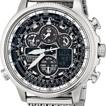 Citizen Steel 48mm Chronograph JY8030-83E new