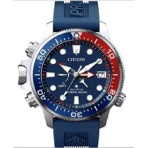 Citizen Promaster Marine Steel 46mm Blue No numerals