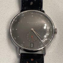 NOMOS Metro 38 Datum Steel 38mm Grey United States of America, Texas, austin