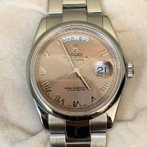 Rolex Day-Date 36 White gold 36mm Pink United States of America, California, San Francisco