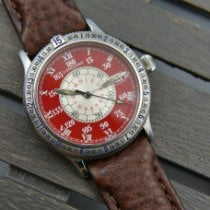Longines Lindbergh Hour Angle Steel Red