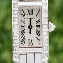 Cartier Weißgold Weiß gebraucht Tank (submodel)